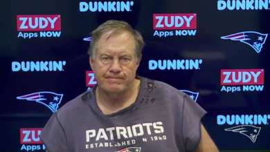Photo of Is this sweater that Bill Belichick is wearing the greatest thing we've seen in sports?