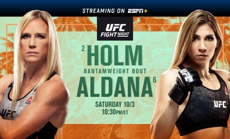 UFC on ESPN Holm vs