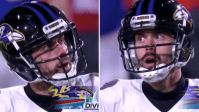 Photo of Justin Tucker does a Double Doink! Is he the new Cody Parkey?