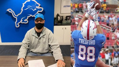 Photo of Detroit Lions Sign Hunter Thedford  – @hunterthedford  #OnePride