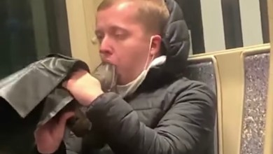 Photo of This Dude Is Casually Licking and Sucking The Bottom Of His Boot And It Makes Me Want To Puke – So You Need To Watch It