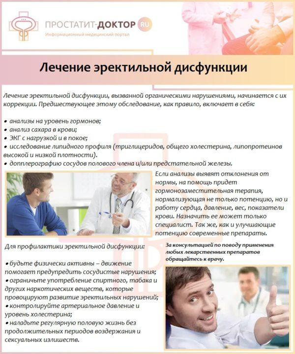 Препараты для лечения простатита и эректильной дисфункции сеалекс лечит ли простатит
