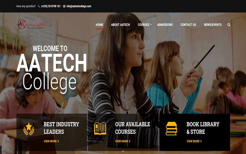 AATECH college home page