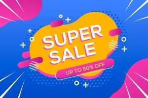 super sale coming soon