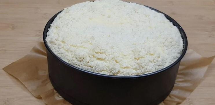 Чудо пиріг з сиром і ягодами. Швидкий і простий рецепт