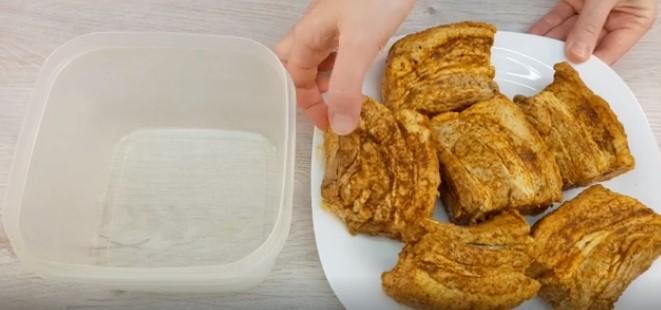 Рецепт свинячої грудинки п'ятихвилинки: свекруха готувала і мене навчила: результат здивував