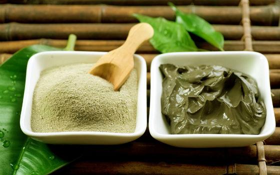 Приготовление состава для разогрева кожи из глины
