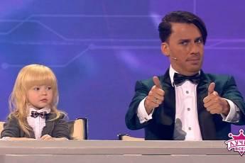 Эта девочка сразила публику наповал. Галкин чуть со стула не сполз от смеха!