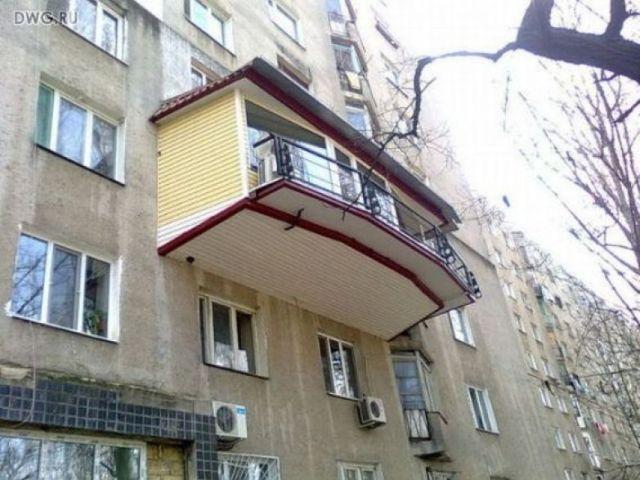 20 самых суровых балконов, от которых хочется пищать!