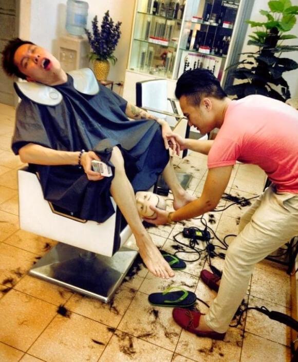 20+ ошарашивающих и странных снимков, которые можно сделать только в Азии