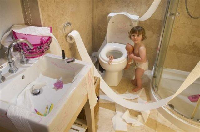 15 примеров того, что произойдет, если отвлечься от присмотра за ребенком