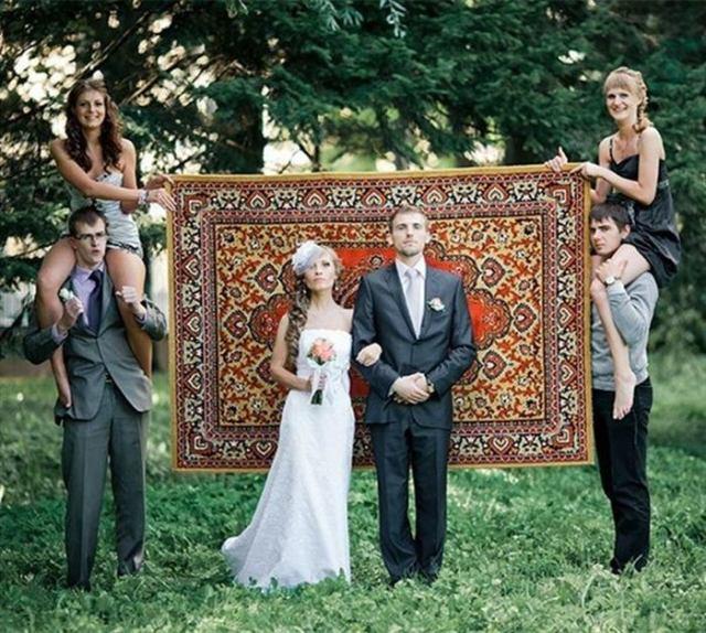 Оригинальные свадебные фото