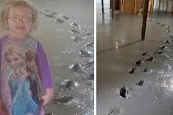 Что случается, когда оставляешь ребенка без присмотра на 5 секунд