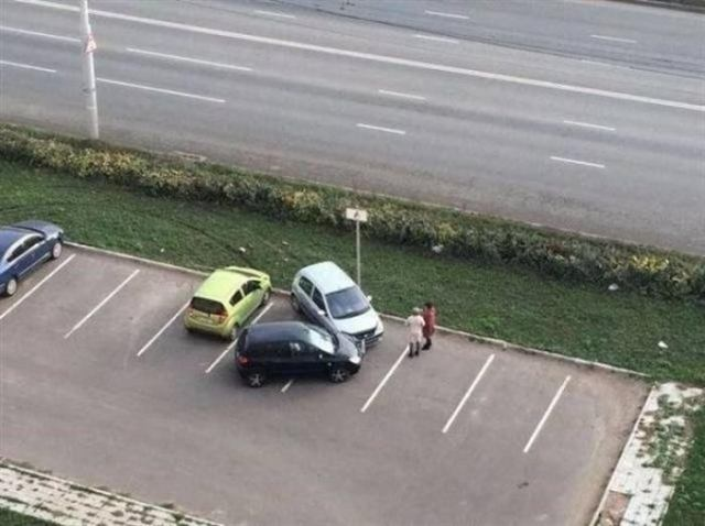 Парковка на уровне «Мастера!»