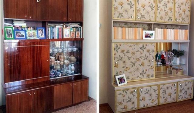 Как можно изменить советскую мебель, чтобы она еще долго послужила