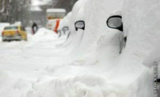 Иногда зима реально пугает