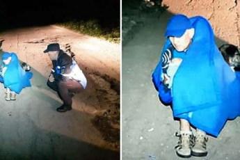 В Румынии, раненого велосипедиста, на дороге всю ночь грела собака, пока не приехали спасители