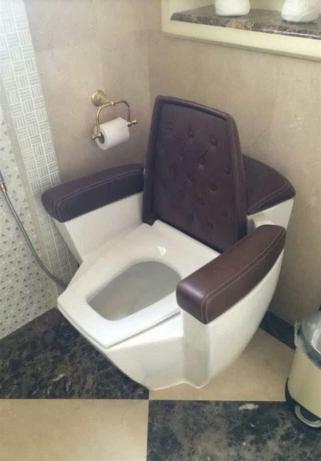 Необычные туалеты, в которых вы не вспомните зачем пришли