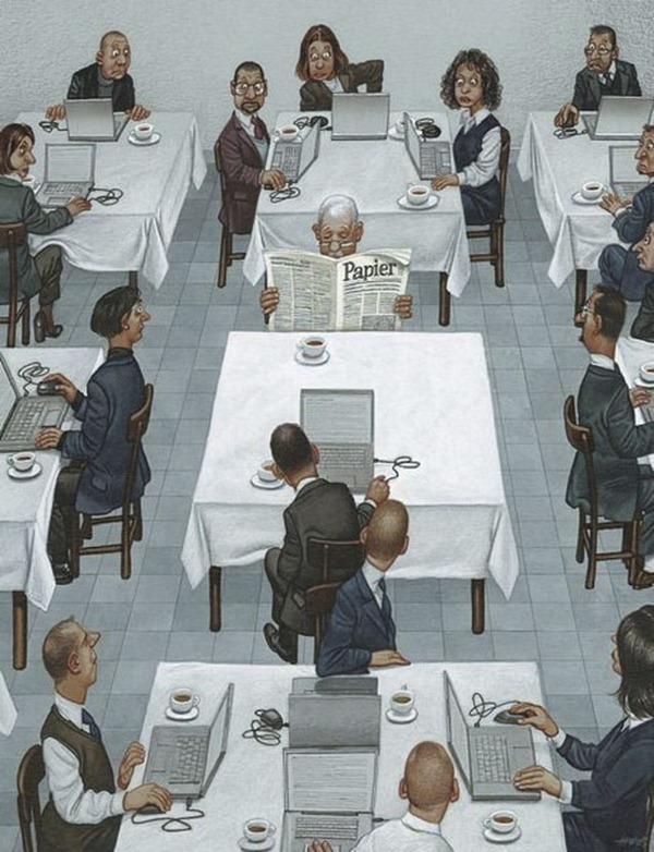 20+ честных иллюстраций о том, куда катится наш мир