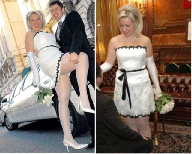 Самые безвкусные свадебные платья российских звезд