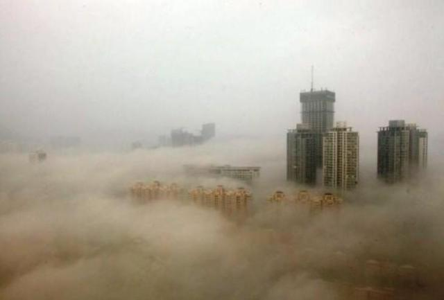 10 фотографий, показывающих как сильно загрязнен Китай