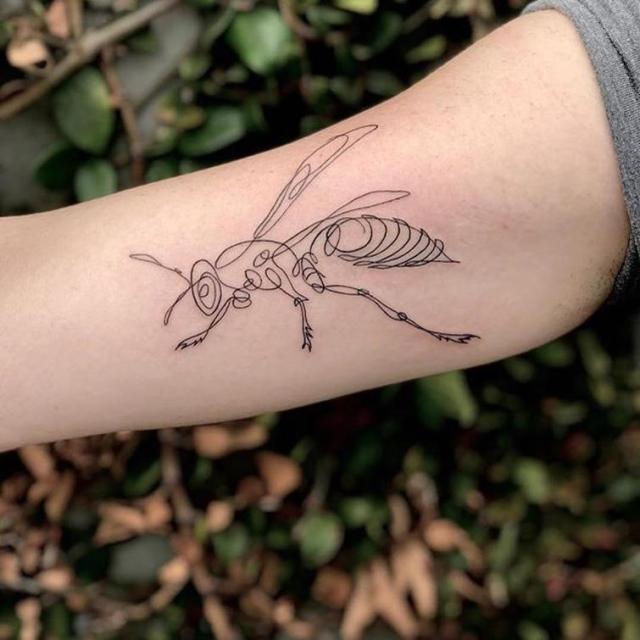 """Татуировки сделанные техникой """"15 линий"""" заставят любоваться каждого"""