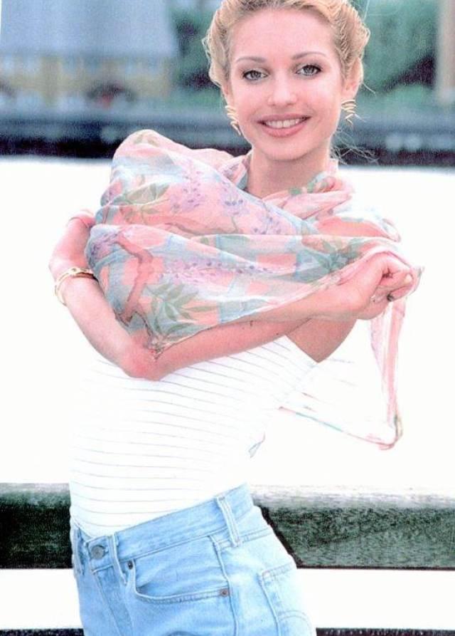 Фото Анастасии Влочковой в молодости - она была так красива...
