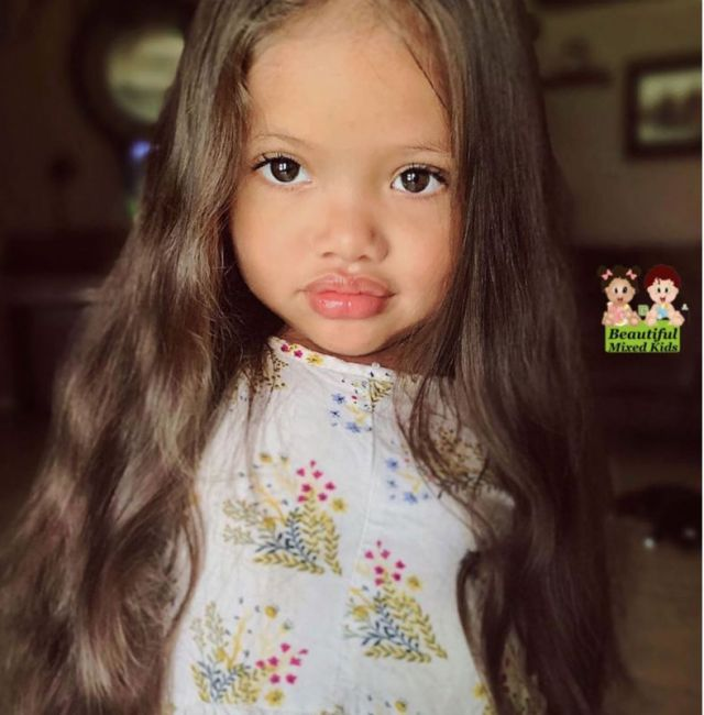 10 малышей с лихо смешанными генами, чья внешность поражает