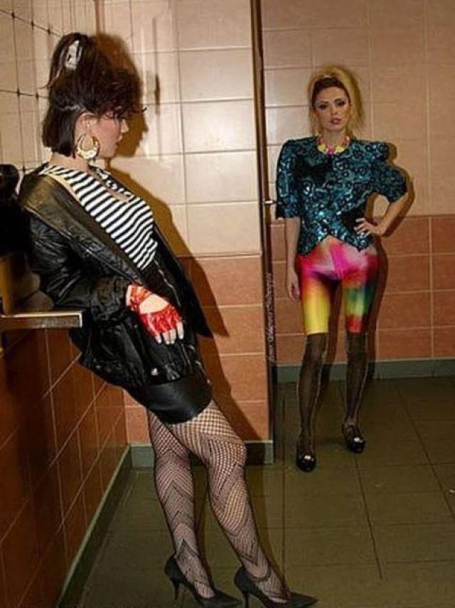 """15 ретро-фотографий о безумной моде """"лихих 90-х"""""""