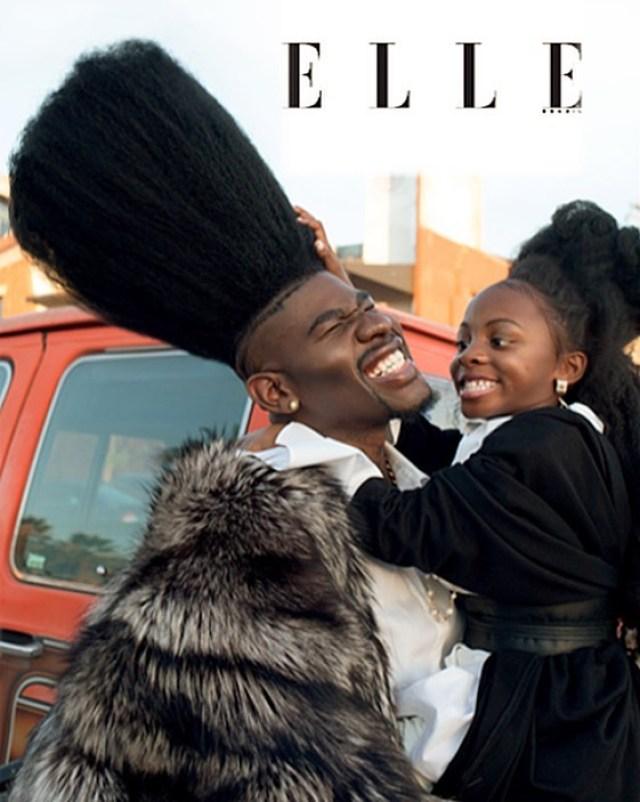Отец и дочь обладатели высоченных волос в мире. Такой шевелюры нет ни у кого