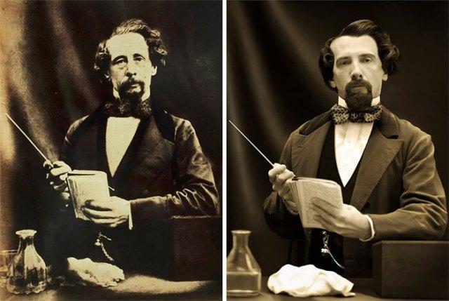 7 фото исторических персонажей рядом с их прямыми потомками