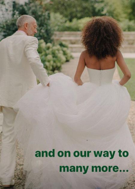 Тина Кунаки показала редкие семейные фото в честь годовщины свадьбы с Венсаном Касселем