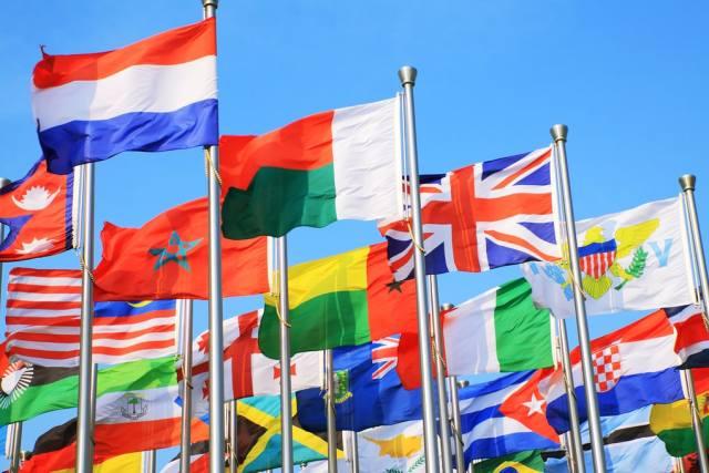 Почему на флагах стран мира не используется фиолетовый цвет?