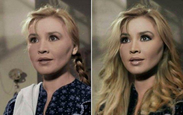 По нынешним стандартам. Как бы выглядели актрисы СССР в наше время