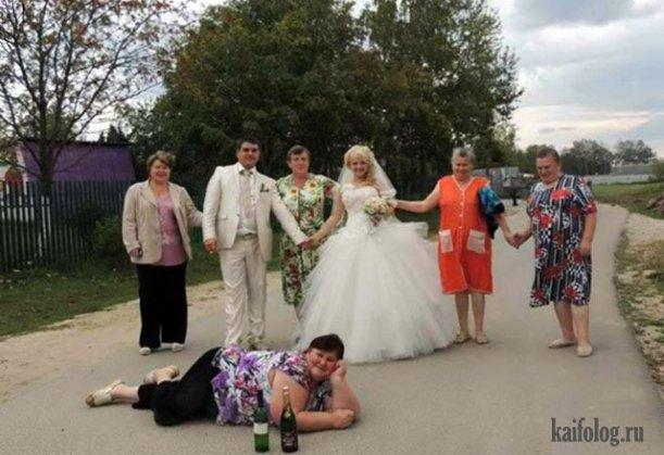 Сельский шик и роскошь. Смелые невесты в неприемлемых свадебных платьях