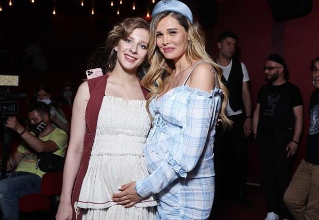 Как у старушки. Арзамасова надела в беременность платье-халат как у бабули