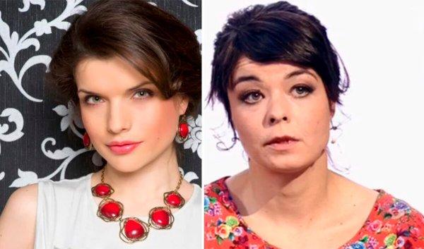 Два разных состояния. Женщины одного возраста, но разной внешности