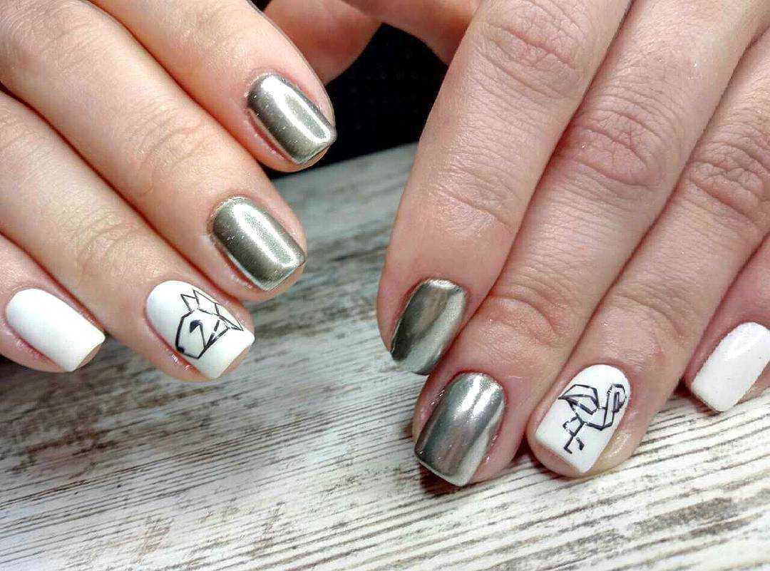 дизайн ногтей для начинающих пошагово 5