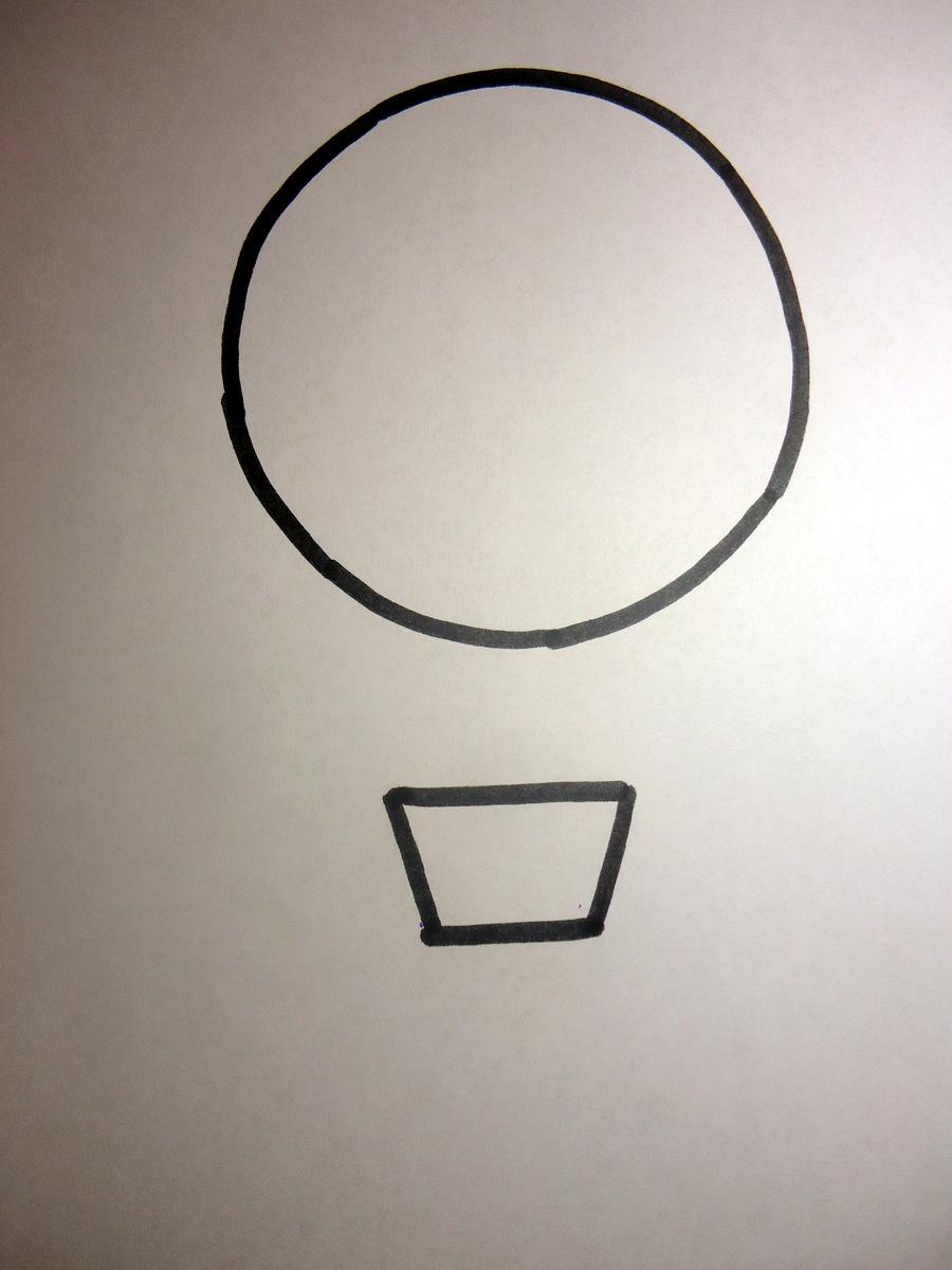 Cara menggambar udara dengan pensil. Cara menggambar balon secara ...