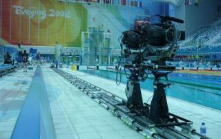 Prosup camera track Tango Roller in action during the Olympic Games in Beijing