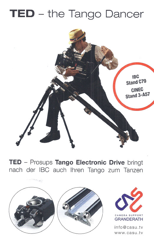 TED Tango Electronic Drive - motorised camera slider
