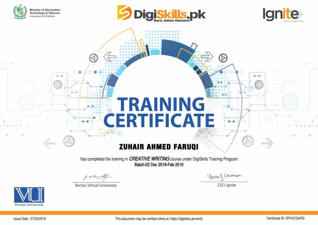 Certificate_ Content