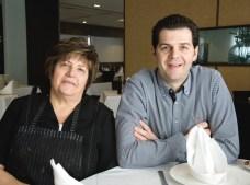 Loli y Fran del Restaurante Matola