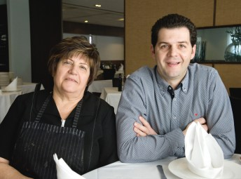 Loli y Fran, madre e hijo