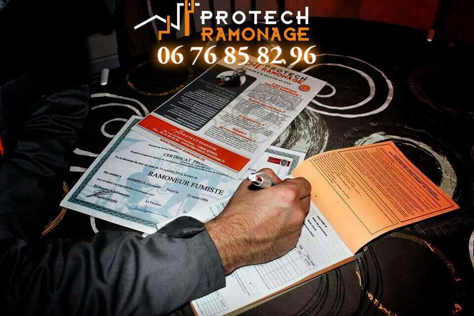 certificat de ramonage protech ramonage. Black Bedroom Furniture Sets. Home Design Ideas