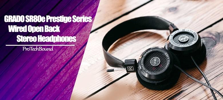 Best Budget Open Back Headphones In Under $100 - GRADO SR80e