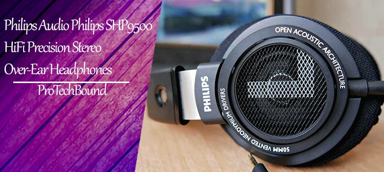 budget friendly Philips SHP9500 HiFi Precision Stereo Over-Ear Headphones good for gaming