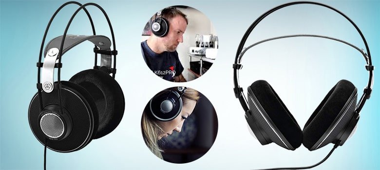 Best Open Back Headphones Under $200 - AKG Pro Audio K612 PRO Over-Ear, Open-Back