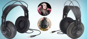 Samson Technologies SR850 best semi open back headphones