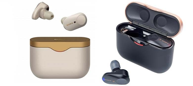 Sony WF-1000XM3 Industry Leading Noise Canceling Truly Wireless Earbuds Headset with Mic